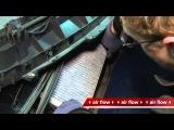 Mercedes Benz A Klasse. Замена салонного фильтра. Cabin air filter replacement.