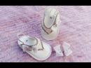 Como customizar um chinelinho de bebê