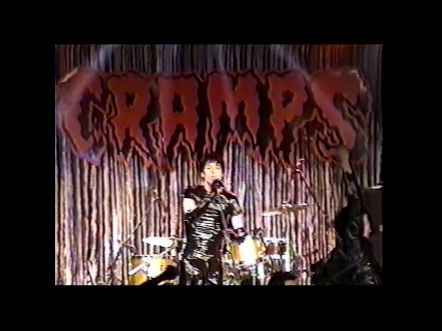 The Cramps (live) - January 28th, 1995, SOMA, San Diego, CA