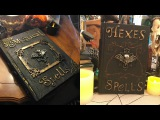 How To Make Halloween Spell Books ~ DIY ~ She's In Her Apron