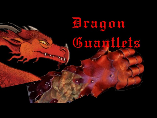 DIY Dragon Gauntlet Pt. 2: Build and Riveting