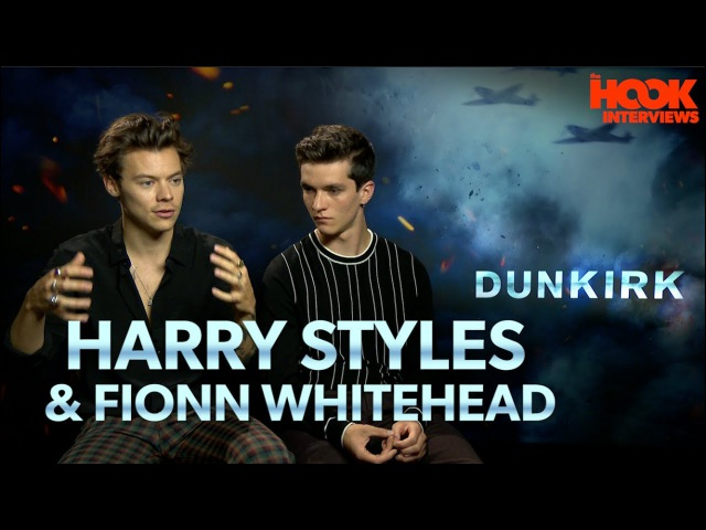 Harry Styles Fionn Whitehead on DUNKIRK, Christopher Nolan Being Giants | *UNEDITED INTERVIEW*