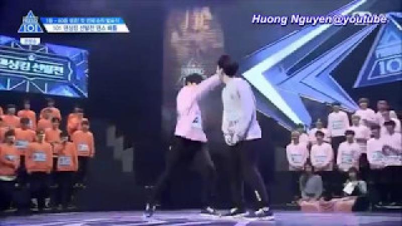[Vietsub] Dancing King Battle @Ep 5 Produce 101 SS2