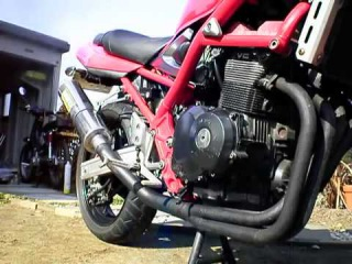 Прямоточный глушитель WR'S Suzuki Bandit 400V