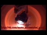 LED фара 30W дальнего света в защитном каркасе с креплением на руль, дуги и тд.