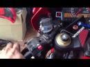 Индикатор передач универсальный на мотоцикле Honda CBR1000