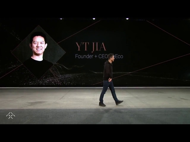FF91 glitching at Faraday Future event