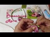 Diadema para comunión o ceremonias VIDEO No.467creacionesrosaisela