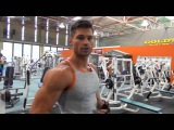 Фитнес модель   это мое хобби  Денис Гусев, тренировка плеч