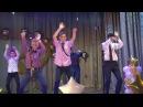 Танец мальчиков на выпускном. г. Попасная ООШ № 24
