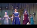 Танец девочек на выпускном. г. Попасная