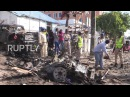 Сомали Бомба нацеленная на полицейский участок убивает семь человек в Могадишо