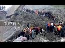 Китай: Более 140 человек были погребены под обломками после ожогов провинции Сычуань.