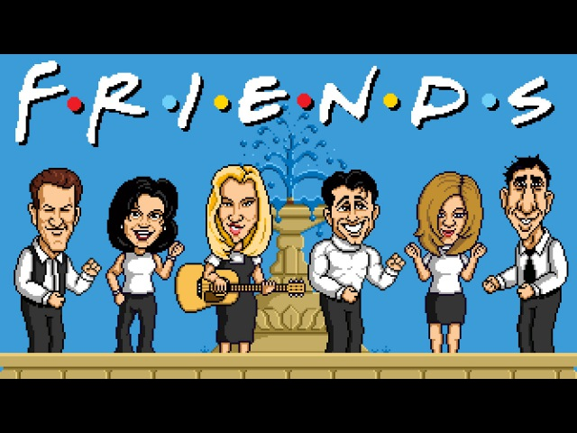 Friends Theme - Video Game Version | LilDeuceDeuce Andrew Huang