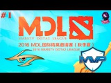 Secret vs MVP #1 | MarsTV Dota 2 League 2016