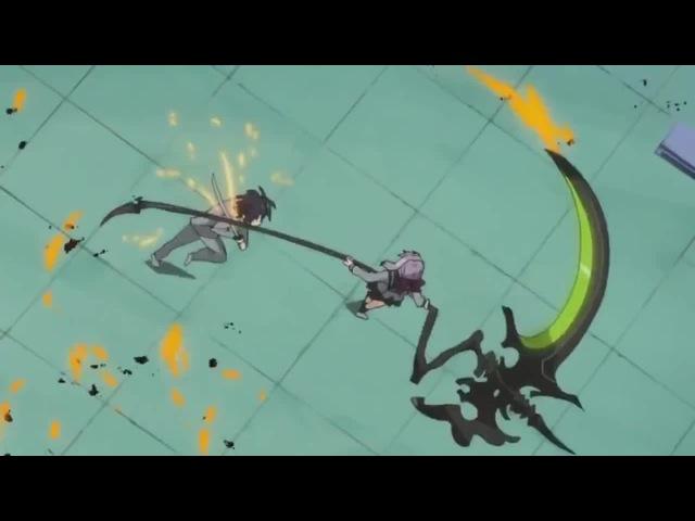 Demonic scythe