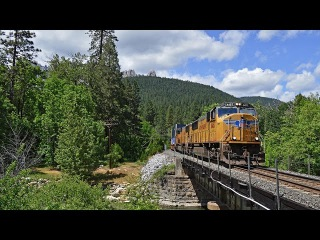[HD] The Trains of the Former Southern Pacific Modoc and Shasta Lines