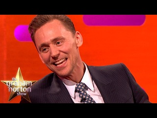Tom Hiddleston Was in a School Play With Eddie Redmayne - The Graham Norton Show  