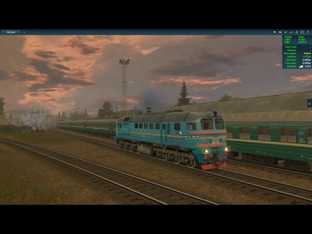 Trainz A New Era-Балезино-Мосты Дм62-ЧС8