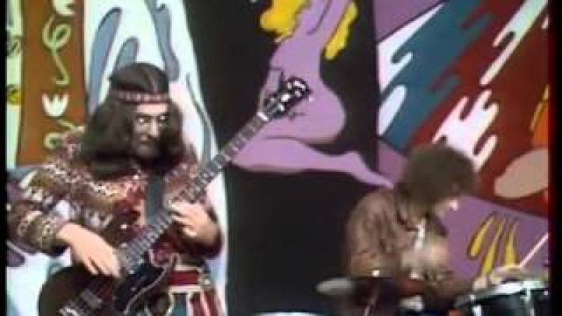 Jethro Tull - Bourée (French TV, 1969 'La Joconde')