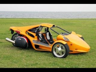 Как делают T-REX - трехколесное авто