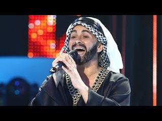 Paula Chirilă se transformă în Hussain Al Jassmi -