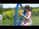 Marion Le Solliec Девушка красиво играет на арфе Nothing else matters - METALLICA - electric harp electroharp and electric