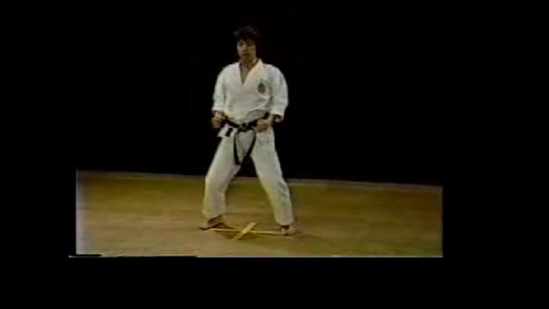 01_Heian_Shodan kata Karate Shotokan Hirokazu Kanazawa