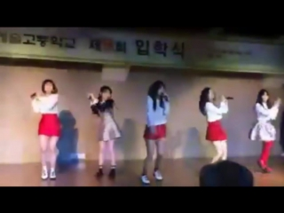 170302 Hanlim University Festival Opening| Red Velvet - Rookie [Fancam]