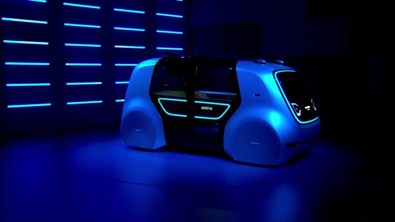 Meet Sedric- The first concept car of the Volkswagen Group