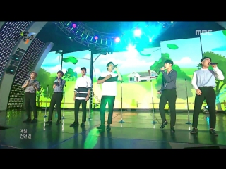 Btob - way back home @ 2016 dmz peace concert 160815