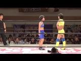 Hanan vs Hina, Rina (Stardom - Yokohama Radiant Hall - 17.06.2017)