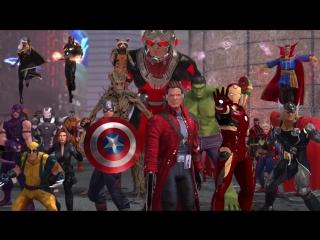 Marvel Heroes Omega - Announce Trailer - PS4