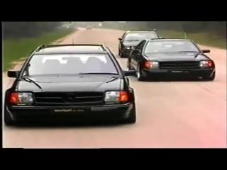mariani Car-Styling Tuning Werbefilm 1992 Mercedes W124 BMW 5er etc