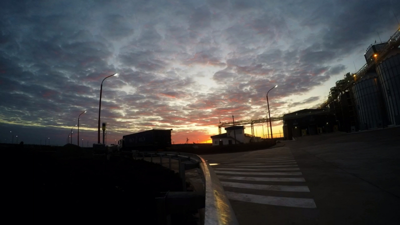Sunrise in Voznesensk