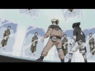 Наруто и Саске против Хаку