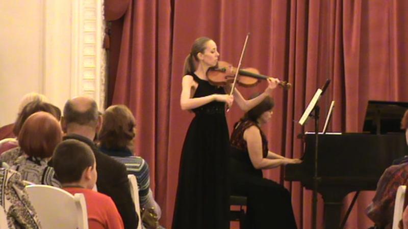 Отрывок с сольного концерта в Шереметевском дворце с И.Краско и Е.Колесниковой