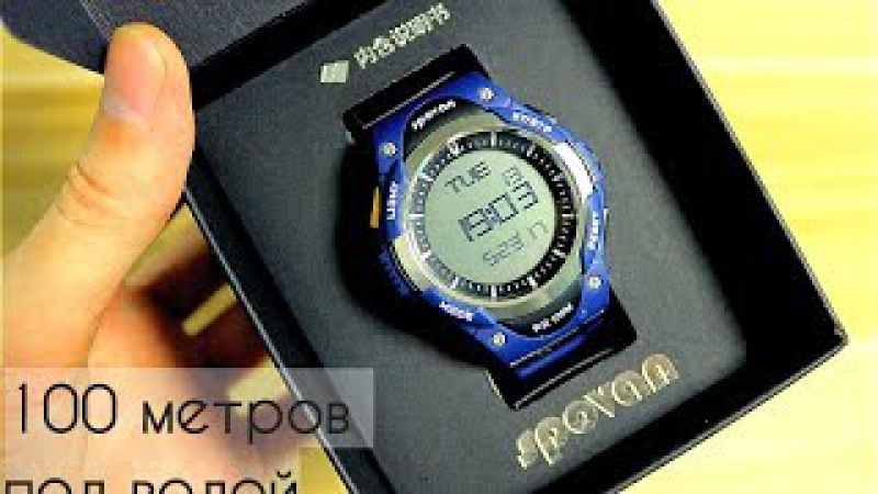 Подводные спорт часы до 100 метров это рекорд SPOVAN SW01 \ Underwater watches up to 100 meters