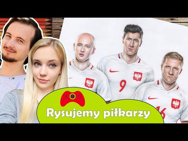 Pojedynek płci 2 Pazdan, Lewandowski, Błaszczykowski | Jak rysować 32