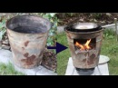 DIY Recycling 3 - Wood Stove for outdoor cooking