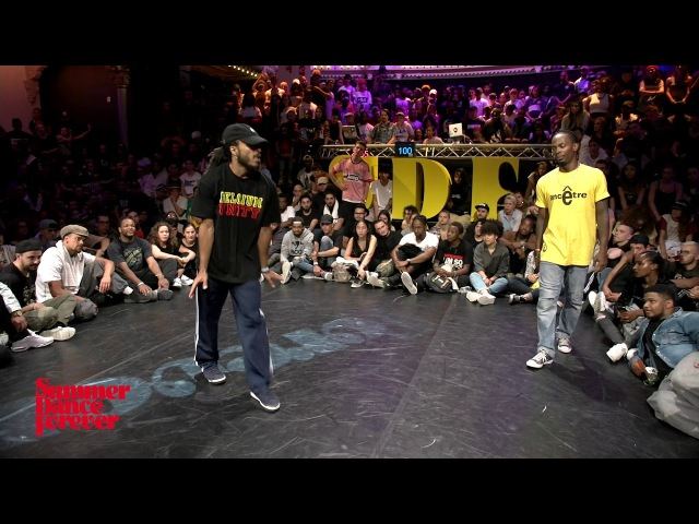Alex The Cage vs Fabbreezy 3RD ROUND BATTLES Hiphop Forever - Summer Dance Forever 2017