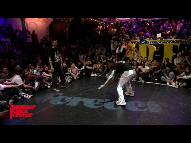 P-Dog vs L'Eto 1st ROUND BATTLES Hiphop Forever - Summer Dance Forever 2017