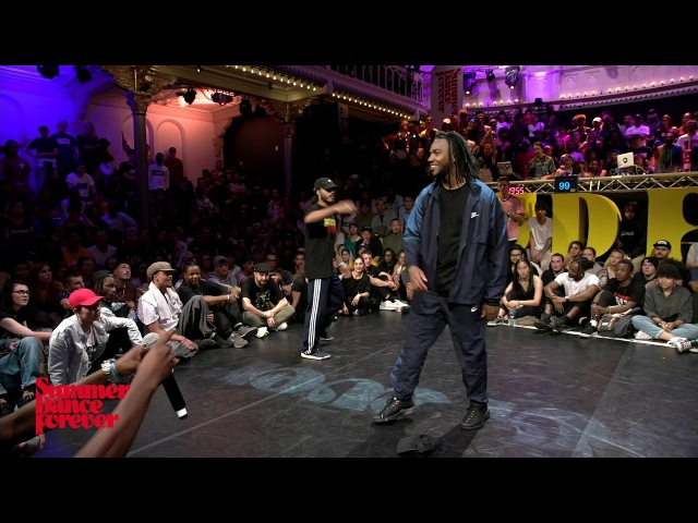 Alex The Cage vs Lumi 1st ROUND BATTLES Hiphop Forever - Summer Dance Forever 2017