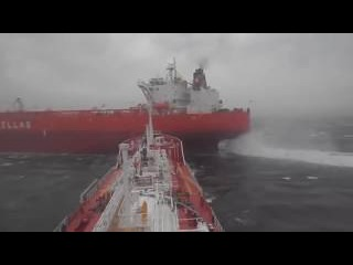 Real Ships collision situation Tuzla, Istanbul