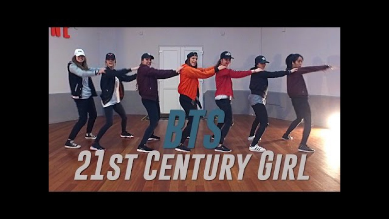 BTS 21st Century Girl Dance Cover by R3d Seven