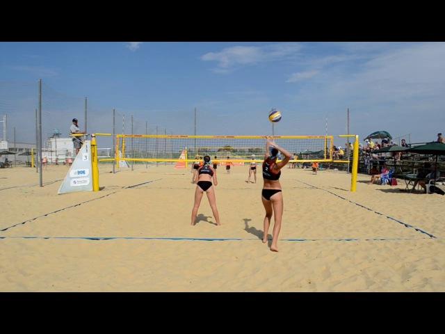 Пляжный волейбол. Первенство России среди молодёжи до 16 лет.