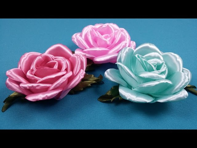 Open rose/Rosa abierta/Открытая роза. МК по запросу