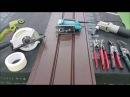 Как резать металлический сайдинг