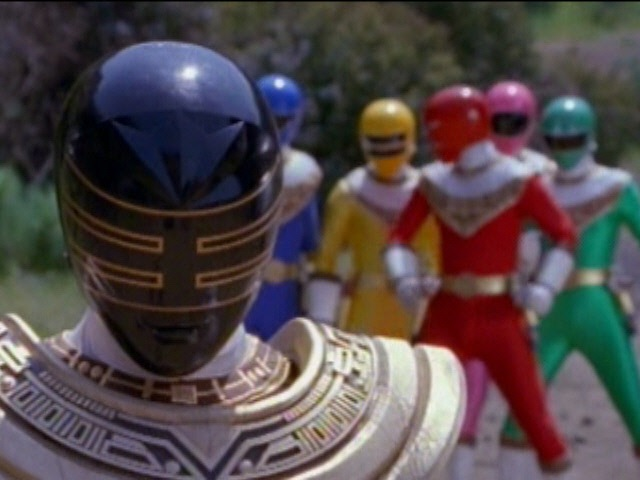 Gold Ranger's First Scene and Fight (Power Rangers Zeo)