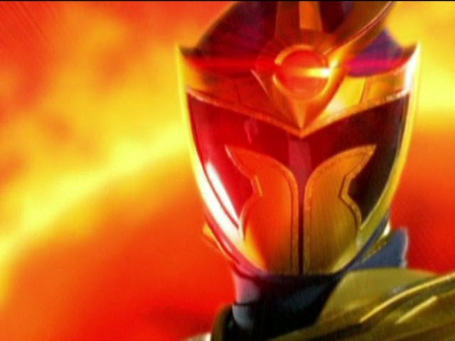 Power Rangers Mystic Force - All Solaris Knight Morphs (Daggeron).